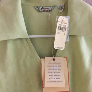 Tommy Bahama Tops - Tommy Bahama Silk Front Tie Blouse